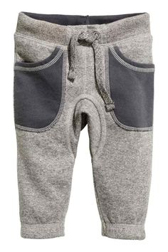 Sweatpants with elasticized drawstring waistband, front pockets, and elasticized hems. Baby Boy Outfits, Kids Outfits, Baby Dior, Baby Sewing Projects, Kids Fashion Boy, Winter Kids, Kind Mode, Baby Wearing, Kids Wear