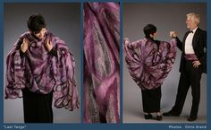 KC Lowe's Aurora Dreams: Gallery of Felted Wool and Silk Designs