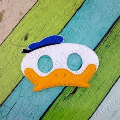 Boy Duck Mask Costume Dress Up Party Favors - pinned by pin4etsy.com