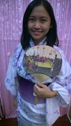 #AIESEC #GlobalVillage Spotting a floral kimono! :)