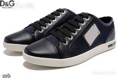 Dolce & Gabbana DG Leather Men D shoes sneakers