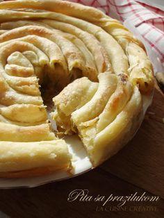 Katmer pita sa prazilukom - La cuisine creative