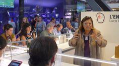 Con Cristina Ziliani di Berlucchi all'evento stampa che si è svolto all'Enoscuola di Firenze