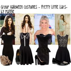 pretty little liars costumes halloween