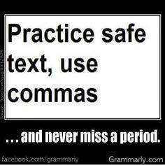 Monday Funnies: Safe Text | Margaret Locke