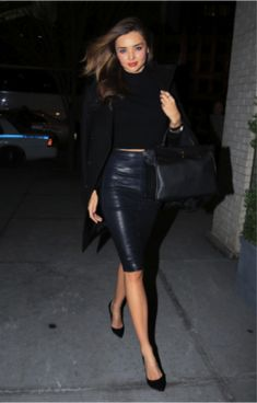 Stunning! Givenchy coat, The Row skirt, Gianvito Rossi shoes, Hermès bag