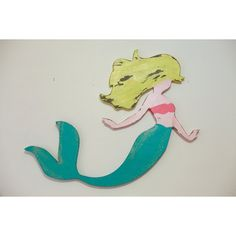Wooden Mermaid Wall Art mermaid wood cut-out | imma save this idea! | pinterest | mermaid