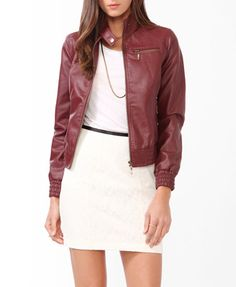 Distressed Bomber Jacket  $27.80