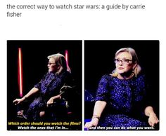 A Guide By Carrie Fisher.