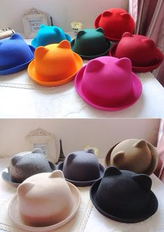 24: cutest dang hats ever!