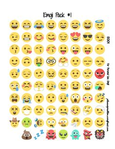 Emoji Planner Stickers