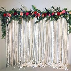 Frank registered wedding decorations and flowers redirected here Vigilant started Wedding planning Search our This wall hanging is gorgeous and would be an easy DIY! You can customize our wood walls anyway you want! Wedding What To Register For Deco Floral, Motif Floral, Floral Design, Hanging Flower Wall, Flower Wall Decor, Hanging Art, Wedding Wall, Diy Wedding, Wedding Ideas