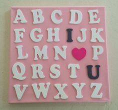 Easy DIY project for baby girl nursery.