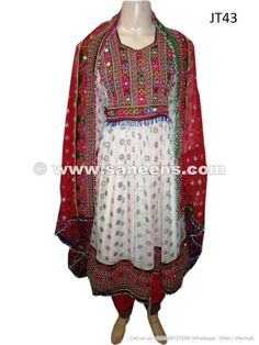 Afghan Dress For Afghans Event Traditional Embroidered Textiles - Saneens Online Store