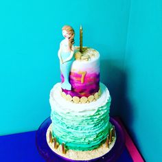 Mermaids for Issy by Jabelles Cakes