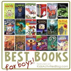 A collection of 20 Books for every boy - help your kids love chapter books with one of these.