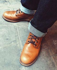 http://chicerman.com  selvedge-socks-shoes:  Beckman 9013 #redwing #redwingboots #redwinheritage #beckman #9013 #chestnut #usbootsfreak #boots #edwin #edwindenim #nashville #denim #selvedge #menstyle #menswear #igers #paris #vsco #vscocam #vscogood by @vincent.howl  #menshoes