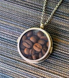 Looking for a great gift for the coffee fan in your life? This Coffee Lover's Locket Necklace is the perfect project for you.