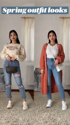 Casual School Outfits, Cute Casual Outfits, Stylish Outfits, Workwear Fashion, Fashion Outfits, Athleisure Outfits, Clothing Hacks, Korean Outfits, Aesthetic Clothes