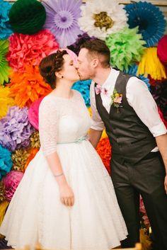 village hall wedding ceremony bride and groom Handmade Wedding, Diy Wedding, Farm Wedding, Wedding Decor, Wedding Ceremony, Wedding Stuff, Wedding Venues, Dream Wedding, Wedding Ideas