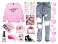 """Daddy's Girl"" by lideda ❤ liked on Polyvore featuring Alexander Wang, Casetify, Nails Inc., Christian Dior, OPI, Disaster Designs and Converse"