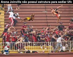 'Arena Joinville não possui estrutura para sediar jogos', afirma promotor
