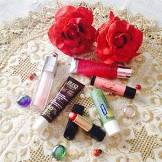 my collection of lip care by  Airika