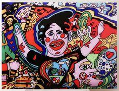 Tableau n°13 PLEXIGLAS 80x60cm : Peintures par ivan-prod