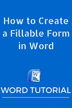 In this post, we show you how to create a fillable form in Word 2010 so that you can use it to collect feedback from clients and customers. Computer Help, Computer Technology, Computer Programming, Computer Tips, Computer Lessons, Computer Science, Energy Technology, Technology Gadgets, Computer Hacking