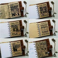 New dividers for my favourite filofax ❤ #pottermeetsplanner  #potterhead…
