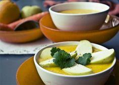 Una deliciosa crema de zanahoria y manzana a la naranja que te encantará. Te enseñamos como hacerla. recetas de cremas. recetas Thermomix