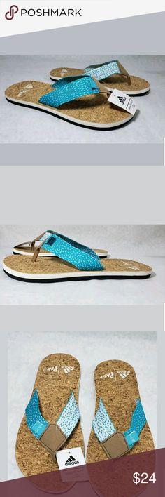 13c6236f46cf Adidas Slides Men Size 6 Flip Flops Eezay Parley New with tags Adidas  Slides Sandals Flip