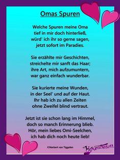 Oma, Van Tiggelen, Gedichte, Menschen, Leben, Weisheit, Welt, Erde, Gesellschaft, Gefühle, Grüße,