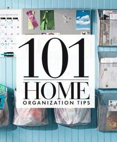101 organization tips