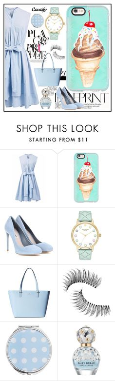 """""""ICE CREAM anyone?🍦"""" by casetify ❤ liked on Polyvore featuring Chicwish, Casetify, Miu Miu, Kate Spade, Trish McEvoy, Miss Selfridge and Marc Jacobs"""