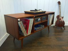 Mid century modern stereo/turntable console record player