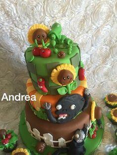 Plants vs Zombies cake I made