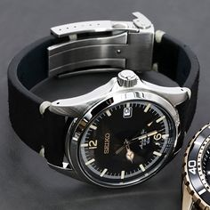 Watch Bands | Watch Straps | Upgrade your Seiko watch | Strapcode Metal Watch Bands, Leather Watch Bands, Replacement Watch Bands, Seiko Watches, Stainless Steel Bracelet, Cool Things To Make, Omega Watch, Watch Straps, Accessories