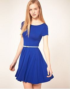 Find the best selection of ASOS Skater Dress with Cap Sleeves. Shop today with free delivery and returns (Ts&Cs apply) with ASOS! Yes To The Dress, Going Out Dresses, Dress Me Up, Asos Dress, Latest Dress, Online Shopping Clothes, Latest Fashion Clothes, Skater Dress, Cap Sleeves