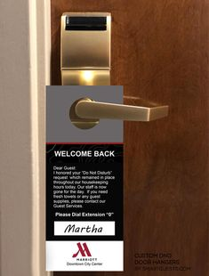 Hotel Services, Guest Services, Hotel Housekeeping, Door Hangers, Hospitality, Customer Service, Improve Yourself, Cleaning, Key