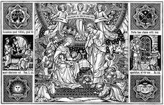 Natividad de Nuestro Señor / Grabado tomado de un misal del siglo XIX / http://gloria.tv/album/xsRqLuUGfAU/media/pXKRgsgRUaH