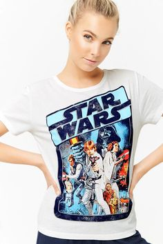 Women's Star Wars Poster Art Pyjama T-Shirt at Forever 21 ⭐️The Kessel Runway ⭐️ Star Wars fashion ⭐️ Geek Fashion ⭐️ Star Wars Style ⭐️ Geek Chic ⭐️