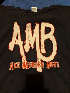 761bacdd3fbb6 Black Axe Murder Boys T-shirt 3XL #fashion #clothing #shoes #accessories