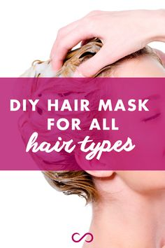 6 DIY Hair Mask Recipes You Can Make At Home: for all hair types! LEARN MORE at http://hairfinity.com/blog/diy-hair-mask/ #diyhairmasks #diyhairmask #hairmask