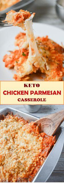 Keto Chicken Parmesan Casserole - HOKIINFO.ORG
