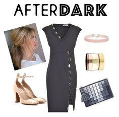"""""""AFTER DARK outfits"""" by claudyabenedicta on Polyvore featuring Versace, Valentino, Miss Selfridge, Gemma Redux and Anya Hindmarch"""