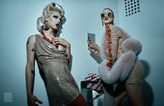 Violet Chachki and Sasha Velour in Interview Magazine : rupaulsdragrace