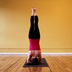 Double Arm Headstand