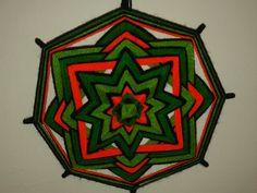 Mandala Fluor  8 Puntas