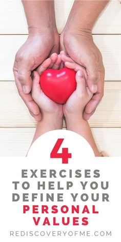 4 Practical Exercises to Help you Discover Your Personal Core Values | Learn how to define your core values to live a more genuine life. Business and personal values help us live with intention. These 4 exercises will help you discover what your core valu Self Development, Personal Development, Personal Core Values, Interview Techniques, Mental Health And Wellbeing, Self Confidence Quotes, Work Life Balance, Health Advice, Life Purpose